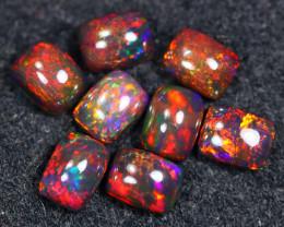 8.21cts Natural Ethiopian Welo Smoked Opal LOTS  / BF9010