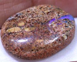 11.35CTS BOULDER PIPE  OPAL POLISHED STONE RO- 1909   RANIOPALS