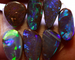 6.9 CTS  STUNNING BOULDER OPAL RING STONES EO-1330    Eternityopals