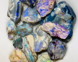 Bright Rough Nobby Opals with Lots of Cutters & Carvers