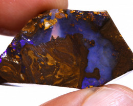 Boulder Beginners Opal Exposed Rough DO-2668 - downunderopals