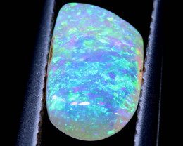 1.55-CTS BOULDER PIPE  CRYSTAL OPAL STONE TBO-8535 TRUEBLUEOPALS