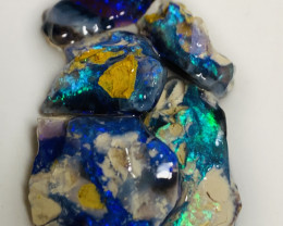 Black Opal- Bright Blue Blacks to Cut (see the video plz)#734