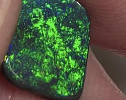 N1 Gem Black Seam Opal Rub For Jewellery Makers #740