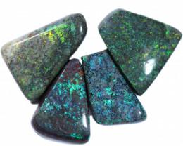 23.00 cts Andamooka matrix opal parcel -natural polish [SO218]