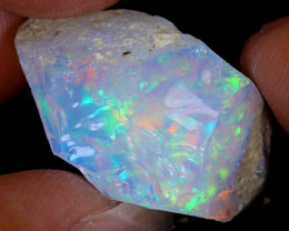 14cts Natural Ethiopian Welo Rough Opal / WR8885
