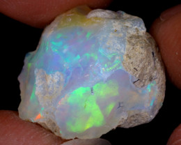 13cts Natural Ethiopian Welo Rough Opal / WR8909