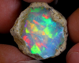 14cts Natural Ethiopian Welo Rough Opal / WR8926