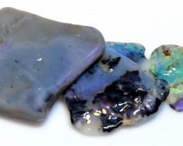 40.31cts Black Opal Rough Cutters Parcel DT-A5463     Dreamtimeopals