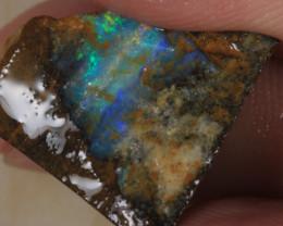 NO RESERVE!! #5 BOULDER Gamble Rough Opal [36657] 53FROGS