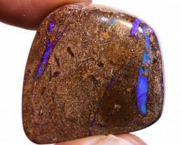 Boulder Pipe Opal Polished Stone AOH-975  - australianopalhunter