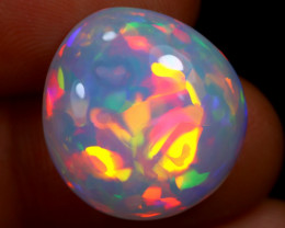 10.70cts Natural Ethiopian Welo Opal / BF9049