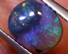 N 4-   1.29  cts   black opal stone lightning ridge TBO-A3720trueblueopals