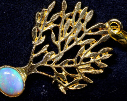 16 CTS SOLID OPAL TREE OF LIFE PENDANT   OF-2896  OPALSFOREVER