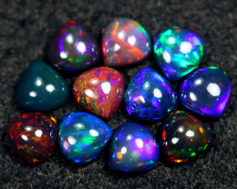 11.90cts Natural Ethiopian Welo Smoked Opal LOTS / BF9112