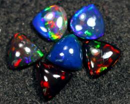 13.90cts Natural Ethiopian Welo Smoked Opal LOTS / BF9114