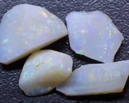 13.08 carats  White Solid Opal Lightning Ridge Parcel ANO-2961