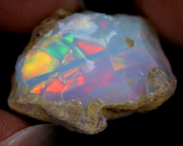 18cts Natural Ethiopian Welo Rough Opal / WR8973