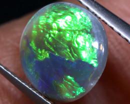 N 4-  1.30   cts   black opal stone lightning ridge TBO-A3759 trueblueopals