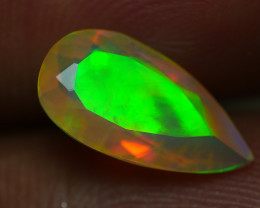 1.510CRT AMAZING FACETED UNIQUE  MULTI PLAY COLOR  WELO-
