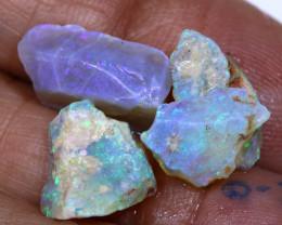 9.85Cts- Lightning Ridge Crystal  Rough opal  Parcel Ado- 9883    Adopals