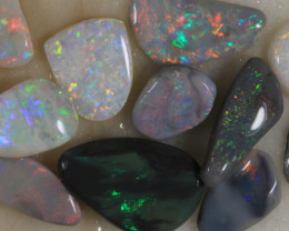 NO RESERVE!! #6 -Rough Opal from  Lightning Ridge [36893] 53FROGS