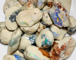 Good Size Rough Nobby Opals with Plenty of Colours