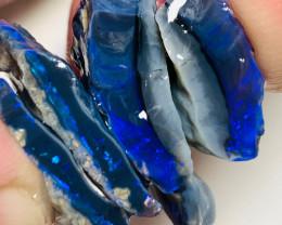 N1 Black Seam Split with Stunning Blue Bars