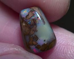 4.75cts gem grade multicolours WINTON Boulder opal , No Reserve