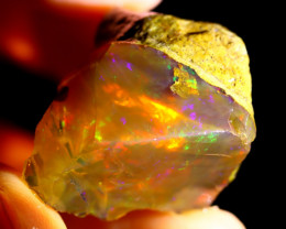 47cts Ethiopian Crystal Rough Specimen Rough / CR5168