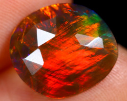 Rose Cut 2.21cts Natural Ethiopian Smoked Welo Opal /BF9247