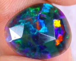 Rose Cut 2.68cts Natural Ethiopian Welo Smoked Opal / NY3613