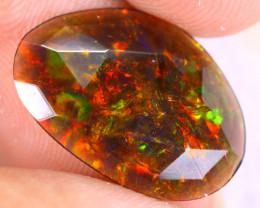 Rose Cut 2.55cts Natural Ethiopian Welo Smoked Opal / NY3614