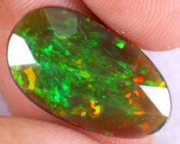 Rose Cut 2.72cts Natural Ethiopian Welo Smoked Opal / NY3616