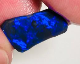 N1 Royal Blue on Black Opal Rub to Polish