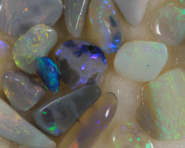 NO RESERVE!! #6 -Rough Opal from  Lightning Ridge [37017] 53FROGS