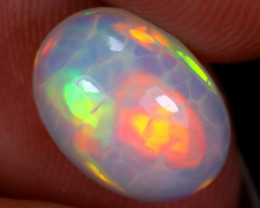 2.08cts Natural Ethiopian Welo Opal / UX1229