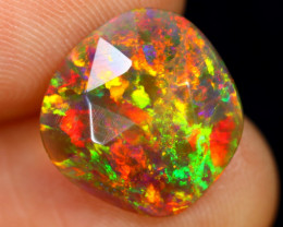 Rose Cut 2.39cts Natural Ethiopian Smoked Welo Opal /BF9261