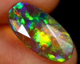 Rose Cut 1.91cts Natural Ethiopian Smoked Welo Opal /BF9267