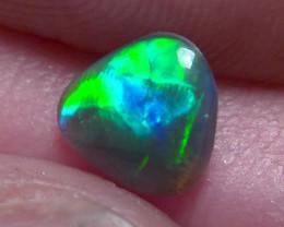 Lightning Ridge Solid Gem Black Opal Multiple Gem colours