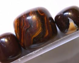 67.95 CTS-Boulder Opal Bead Parcel 3- pcs  Ro-2074  raniopals
