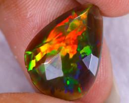 Rose Cut 2.79cts Natural Ethiopian Welo Smoked Opal / NY3659