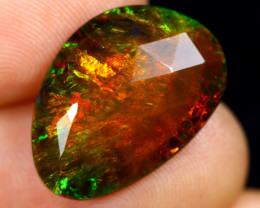 Rose Cut 4.94cts Natural Ethiopian Smoked Welo Opal /BF9282