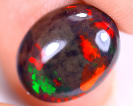 2.31cts Natural Ethiopian Welo Smoked Opal / HM3289