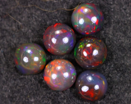 8.71cts Natural Ethiopian Welo Smoked Opal LOTS / HM3330