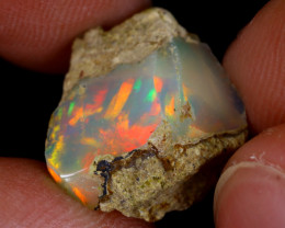6cts Natural Ethiopian Welo Rough Opal / WR9063