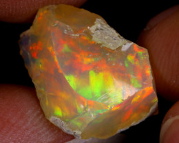 5cts Natural Ethiopian Welo Rough Opal / WR9067