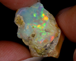 8cts Natural Ethiopian Welo Rough Opal / WR9072