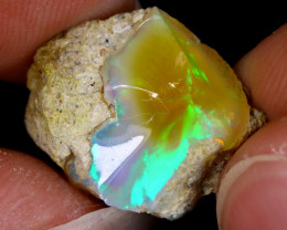 6cts Natural Ethiopian Welo Rough Opal / WR9087