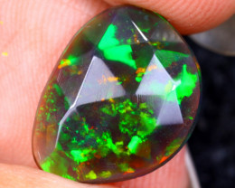 Rose Cut 1.96cts Natural Ethiopian Smoked Welo Opal /BF9315